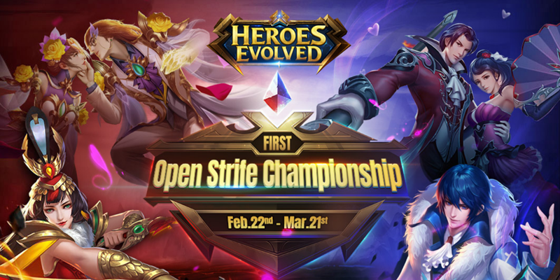 Open Strife Championship will start from Feb 22nd!