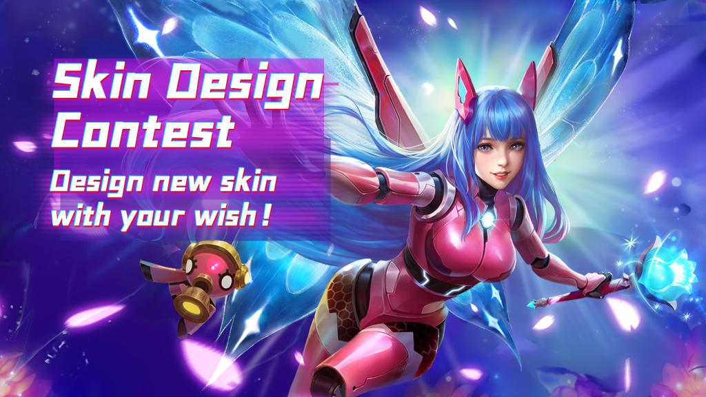 Winner List of Skin Design Contest has been released.