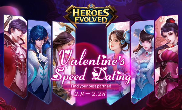 Valentine's Speed Dating will start from February 8th!