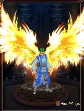 Wings of Infernal Beast