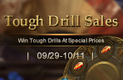 Tough Drill Sales on 09/29-10/11
