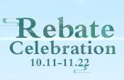 Rebate Celebration
