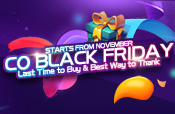 Event Page of Black Friday