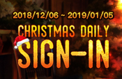 Christmas Daily Signin