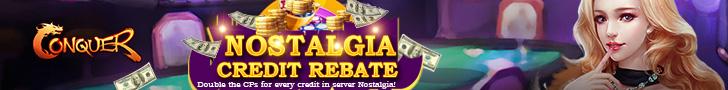 Nostalgia Credit Rebate