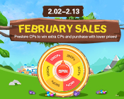 February Sales