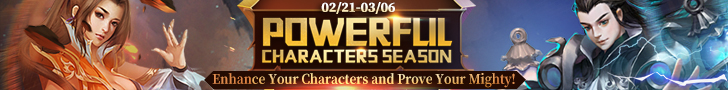 Powerful Characters Season