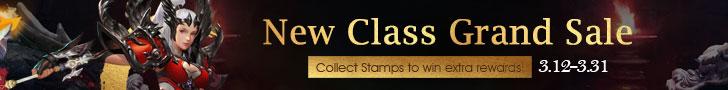 New Class Grand Sale