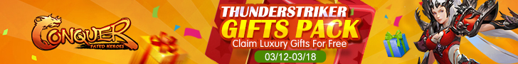 Thunderstriker Gifts Pack
