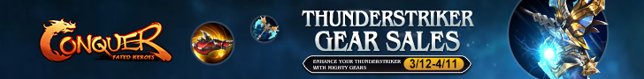 Thunderstriker Gear Sales