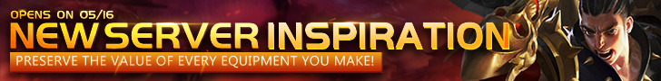 NEW SERVER INSPIRATION