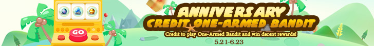 ANNIVERSARY CREDIT ONE-ARMED BANDIT