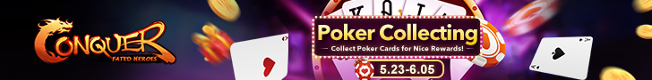Poker Collecting Event will Start on May 23rd