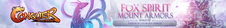 Fox Spirit Mount Armors