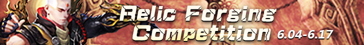 Relic Forging Competition