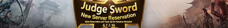 Judge Sword New Server Reservation