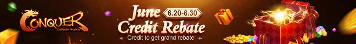 June Credit Rebate