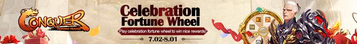 Celebration Fortune Wheel