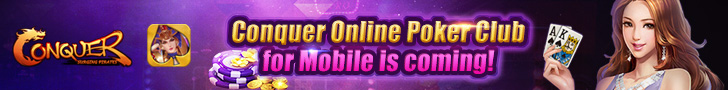 Conquer Online Poker Club for Mobile is coming