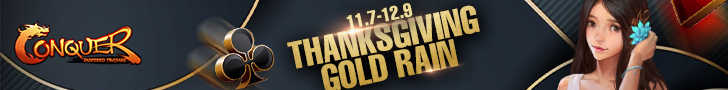 Thanksgiving Gold Rain
