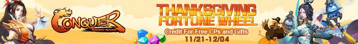 Thanksgiving Fortune Wheel