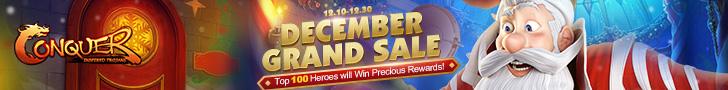 December Grand Sale