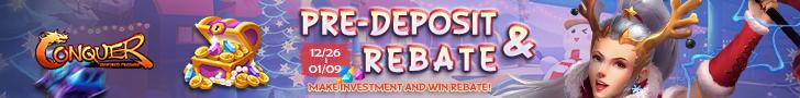 Pre-Deposit Rebate