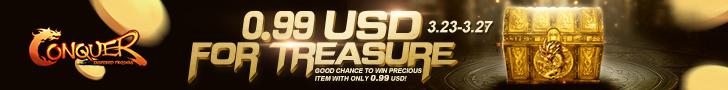 0.99 USD For Treasure