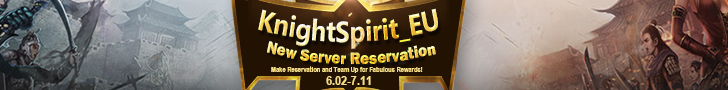 KnightSpirit_EU New Server Reservation