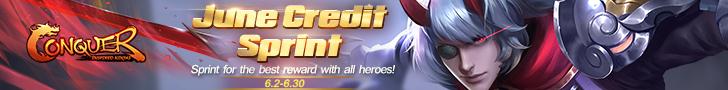 June Credit Sprint