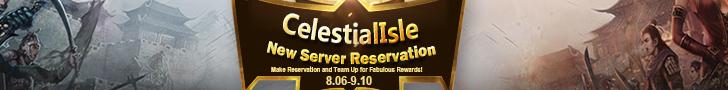 CelestialIsle New Server Reservation