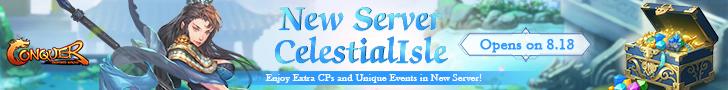 New Server CelestialIsle