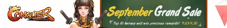 September Grand Sale