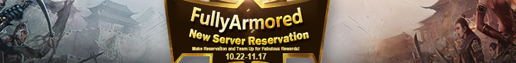 FullyArmored New Server Reservation
