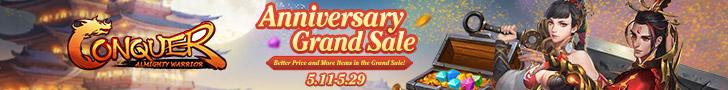 Anniversary Grand Sale
