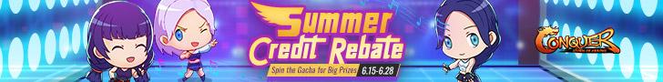 Summer Credit Rebate