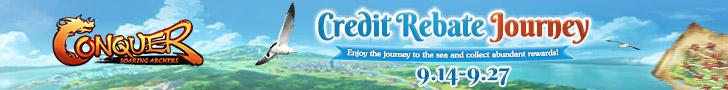 Credit Rebate Journey