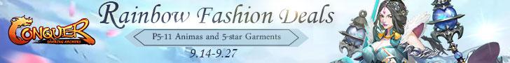 Rainbow Fashion Deals