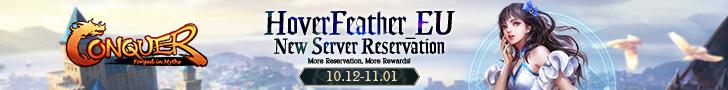 HoverFeather_EU New Server Reservation
