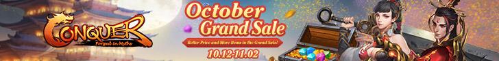 October Grand Sale