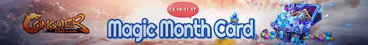 Magic Month Card