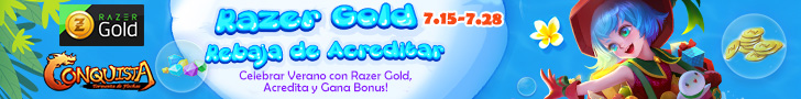 Rebaja de Crédito con Razer Gold