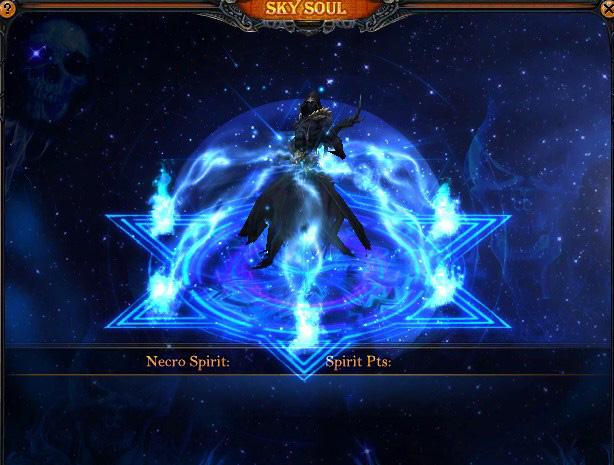 Necromancer Sacrifice System