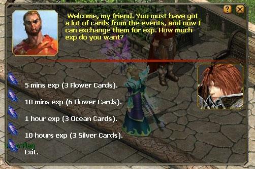 Exchange for Rewards