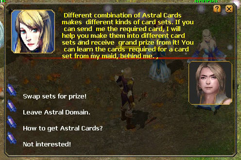 Astral Card Collection