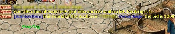 Tips for Businessmen - Auction
